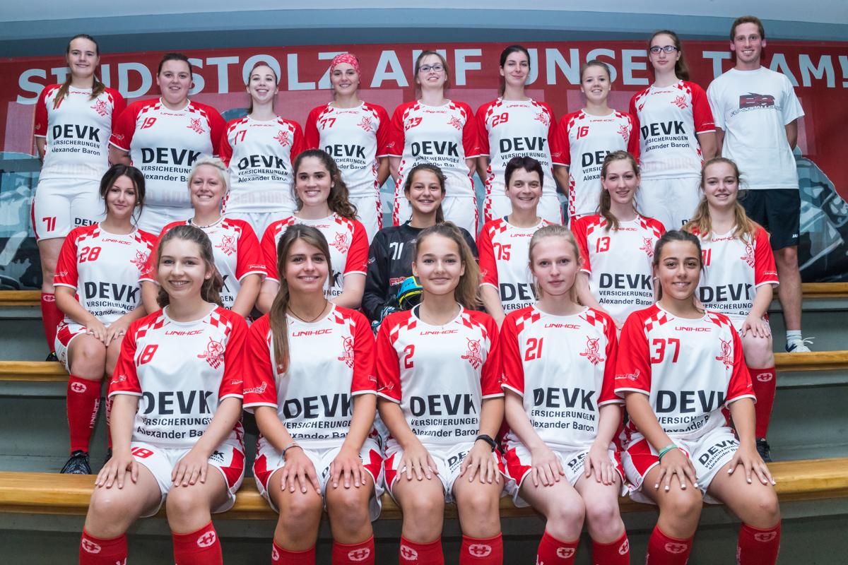 Damen in der Saison 2017/2018