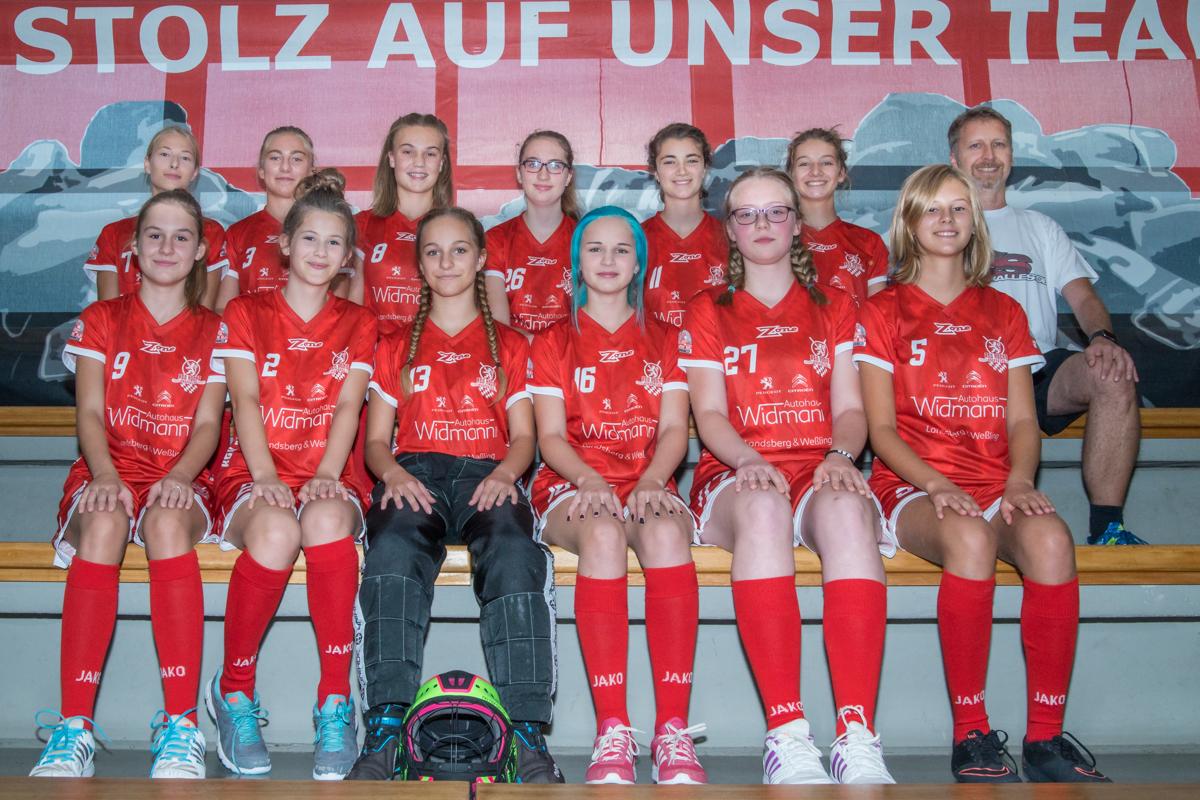 U 15 (Mädels) - Saison 2017/2018