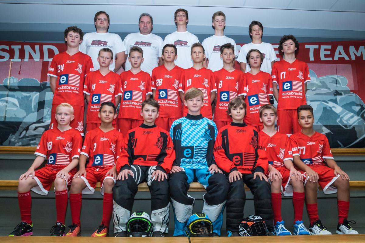 U15 der Saison 2017/18