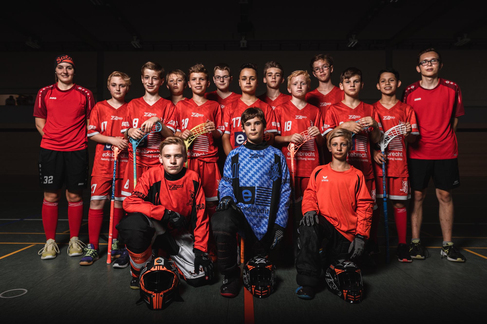 U15 der Saison 2018/19