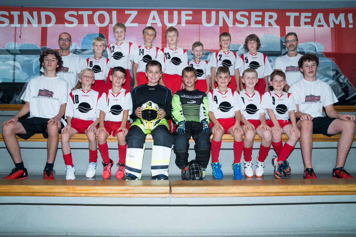 U11 in der Saison 2017/2018